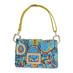 Beaded Belle Vivier Miguelita Shoulder Bag #Caprices #TheLuxer