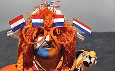 Now THIS is how you support your team. #Holland #Euro2012 #greetingsfromnl