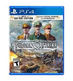 Sudden Strike 4 - PlayStation 4 - New Sealed Bernard Montgomery, George Patton, Real Time Strategy, Strategy Games, Soundtrack, The Technomancer, Command And Conquer, New Video Games, Typing Games
