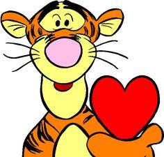 Tigger Disney, Tigger Winnie The Pooh, Winnie The Pooh Friends, Pooh Bear, Eeyore, Baby Disney, Disney Drawings, Cute Drawings, Cartoon Drawings