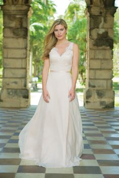 462190fe0f64 Wild Orchid - available in the boutique to try, in beautiful Blush. Bijou Bridal  Boutique