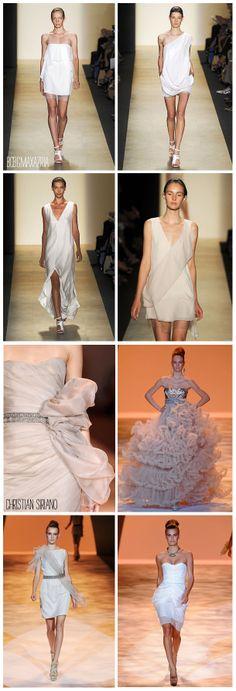 dresses by bcbg max azria and christian siriano.