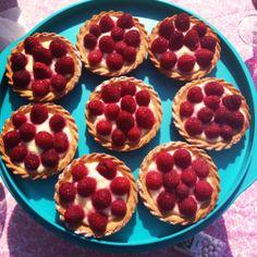 Tartelettes aux Framboises :)