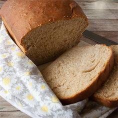 Homemade Whole Wheat Bread - Yum Goggle Thyme Recipes, Oven Recipes, My Recipes, Bread Recipes, Dessert Recipes, Recipies, Savoury Pastry Recipe, Pastry Recipes, Italian Cheese Bread