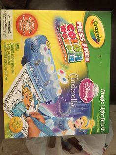Crayola Mess Free Color Wonder Magic Light Brush- Cinderella  | eBay
