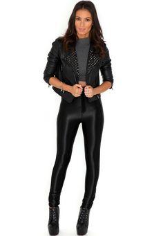 Kadira Shiny Disco Pants misguided