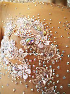 Latin Salsa Ballroom Competition Dress HS155 Size M | eBay