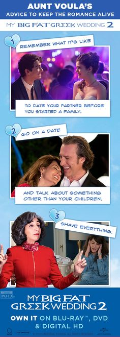 My Big Fat Greek Wedding 2. Own it on Blu-ray, DVD & Digital HD