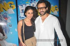 Kareena Kapoor and Saif's son Ibrahim at the screening of Happy Ending  http://toi.in/P41hsY