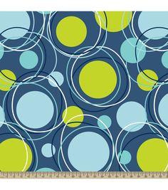 Anti-Pill Fleece Fabric Crazy Dot NavyAnti-Pill Fleece Fabric Crazy Dot Navy,