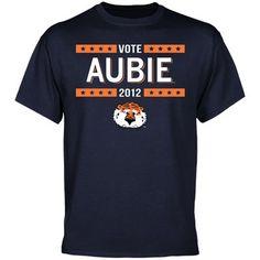 "Auburn Tigers ""Vote for Aubie"""