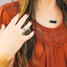 Ebony Totem Ring/ www.nectarclothing.com