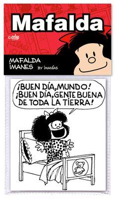 Comprar Mafalda cuadro BUEN DIA en IMANIAS