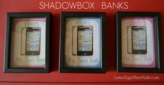 Come Together Kids: Shadowbox Banks (to save for something special)