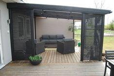 garden design - 56 recommended patio deck design ideas make your home will so interesting 36 recommended patio deck design ideas make your home will so interesting 36 Outdoor Rooms, Outdoor Living, Outdoor Furniture Sets, Outdoor Decor, Outdoor Patios, Casa Patio, Backyard Pergola, Pergola Kits, Rustic Pergola