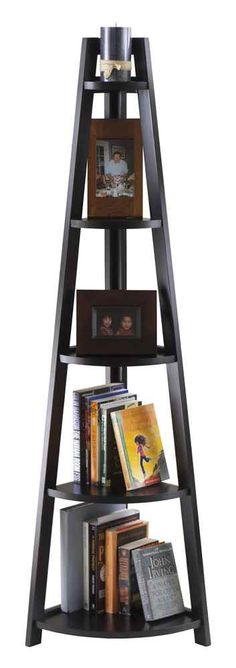 Starlight Lanterns - 5-Tier A-Frame Corner Shelf