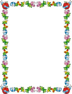 free school themed border paper back to school bulletin board