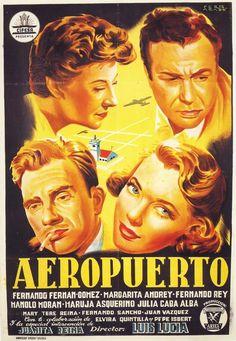 ¿Sabes quién descubrió a Marisol, Rocío Dúrcal o Ana Belén? Se cumplen 30 años de la muerte (y, en breve, 100 del nacimiento) de Luis Lucia Mingarro, prolífico guionista y director de cine, y descubridor de grandes figuras del cine español. Entre sus títulos más importantes: «A mí la legión» (1942), «Currito de la Cruz» (1949) o «Zampo y yo» (1965). Su padre fue ministro democristiano por la CEDA durante la Segunda República. (Cartel de «Aeropuerto», de 1953.) http://www.veniracuento.com/