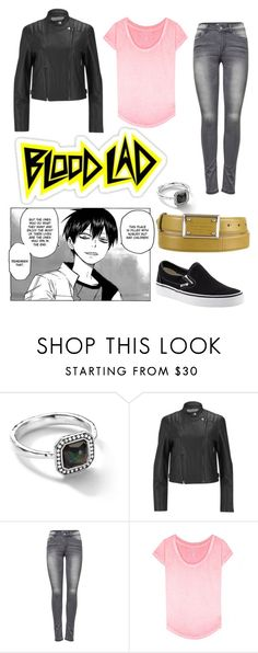 """""""Blood Lad"""" by diana4o8 ❤ liked on Polyvore featuring Vans, Ippolita, Alexander Wang, ONLY, True Religion and Dolce&Gabbana"""