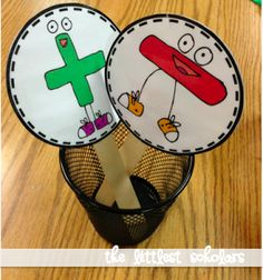 addition/subtraction sticks to check for understanding!