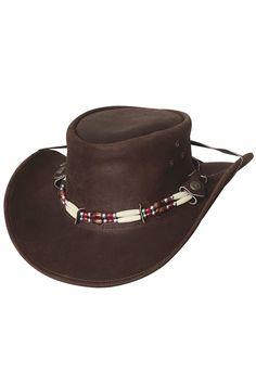 07f6bab9a94a5 Bullhide Uplander Leather Cowboy Hat