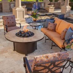 This closeout special will take your outdoor living area to the next level. With free fireglass, a free fabric cover, and quick shipping--this deal on OW Lee is hard to beat. #owlee #starfiredirect #closeout #savings #outdoorliving #firepits #reigniteyourlife #backyardinspiration #designideas