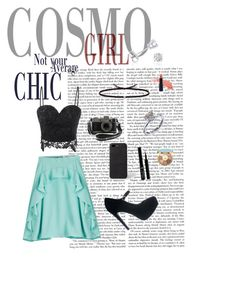 Not your average chic by emily-powers-1 on Polyvore featuring polyvore, Carven, Ileana Makri, Disney, Amanda Rose Collection, Paul Smith, Giorgio Armani, tarte, fashion, style and clothing