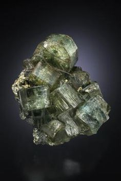 Fluorapatite - Panasqueira Mine - Couto Mineiro da Panasqueira, Panasqueira, Covilhã, Castelo Branco District, Portugal Size: 50 x 45 x 38 mm