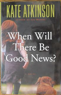 Books and Quilts: When Will There be Good News by Kate Atkinson