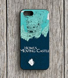Howls Moving Castle iPhone 5   5S Case