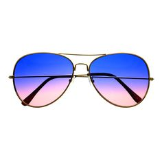 Retro Vintage Fashion Two Tone Lens Gold Metal Frame Aviator Sunglasse – FREYRS - Beautifully designed, cheap sunglasses for men & women