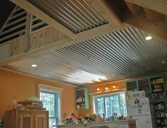 1000 Images About Basement On Pinterest Corrugated Tin