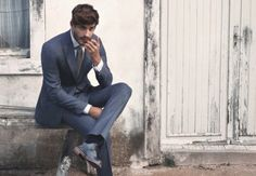 grey-blue-suit-to-match-shoes-knitted-tie-mens-style