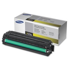 Samsung - CLT-Y504S Toner Cartridge - Yellow