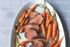 Spice-Rubbed Pork Tenderloin With Baby Carrots
