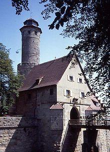 Altenburg (Bamberg) - Entrance and bridge over the moat. - Wikipedia