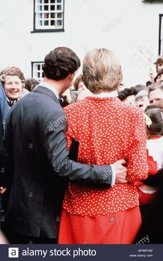 PRINCES CHARLES & PRINCESS DIANA PRINCES & PRINCESS OF WALES 01 May 1981 Stock Photo