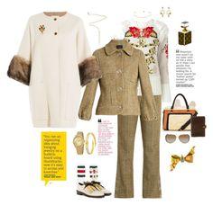 """Simone Rocha suit"" by mbarbosa ❤ liked on Polyvore featuring Simone Rocha, Temperley London, Agnona, Dolce&Gabbana, Gucci, Natasha Accessories, Claudia Canova, Marni, Michael Kors and Chanel"