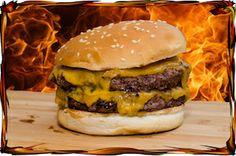 Villisika hampurilainen grillissä - Kauhukeittiö