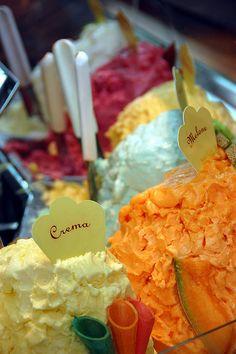 Gelato - Siena, Italy. Ice Cream/Gelato. #SobeysWest