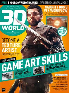 world Cover - August issue Artist Games, Cg Artist, Magazine Cover Page, Unreal Engine, Cover Pages, Zbrush, Cover Design, Game Art, How To Become