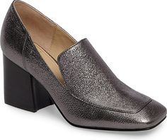 MARC FISHER LTD Women's Shoes in Pewter Leather color. #shoes #fashion #style #footwear #shoe #shoesoftheday #shoestrend #shoeporn