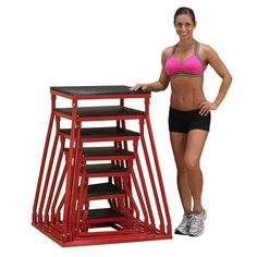 Body-Solid Commercial Grade Plyo Box - The The Body-Solid Plyo Box is perfect for enhancing your jumping power and speed. Useful for athletes of all levels, this box is great for forward,. Jump Workout, Workout Gear, Plyo Box, Proper Running Technique, Vertical Jump Training, Running Techniques, Basketball Workouts, Basketball Drills, Ideas