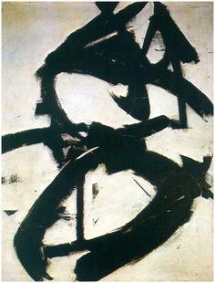 Franz Kline ~ Figure Eight, 1952