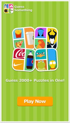 Watch the pic and guess puzzle. 2000+ puzzles available.