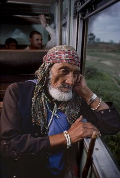 Traveling Thoughts ~ Photo by Steve McCurry