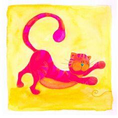 Gato Colorido 4