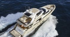 Couach 2600fly nuove foto e sea trial a Cannes boat show 2013