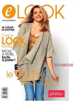 PHILDAR E LOOK GILET - Les tricots de Loulou - Picasa Albums Web