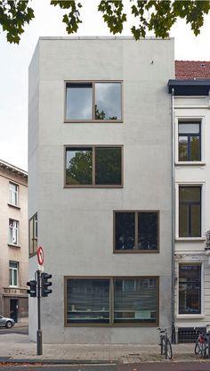 Lieve Vermeiren, Residential Building, Antwerp, 2015 www.lievevermeiren.be/